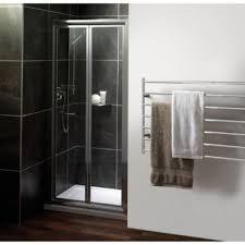 brand new bi fold shower doors 1x 700mm 1x 760mm self cleaning glass