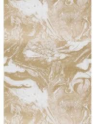 Ferm Living Behangpapier Marbling Goud