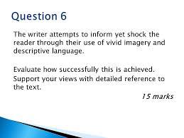 ocr gcse english literature conflict poetry revision and edexcel english language paper 2 practice