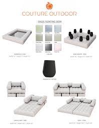inflatable pool furniture. Oasis Floating Pool Furniture Inflatable O