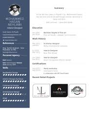 interior designer resume template interior design resume templates ...