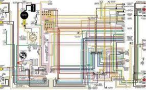 corvette color wiring diagram laminated