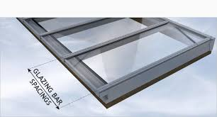 at the dawn of the patent glazing era a consistent ion of glass had evolved at a dependable width and glazing bar centres have historically remained