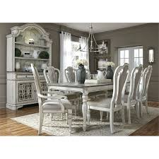 Antique White Dining Room Cool Design Ideas
