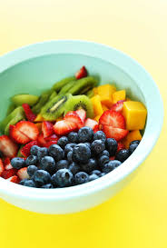 fruit salad bowl ideas.  Fruit Bowl Of Mango Strawberries Kiwi And Blueberries For An Incredible Summer  Side Dish With Fruit Salad Ideas