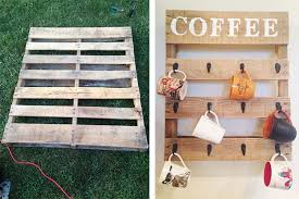 wood pallet decorating ideas. show guests who the \u201cbest mom in world\u201d is by creating a diy coffee cup holder for kitchen wall. find an old wood pallet and refurbish it like this decorating ideas