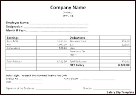 Download Payslip Template Amazing Pay Slip Template