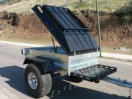 simple but sweet homemade off road trailer