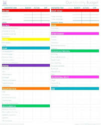 How To Set Up A Monthly Budget Spreadsheet Cleaning Calendar