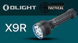 Mở Hộp Đèn Pin Siêu Sáng OLIGHT X9R - Chuyentactical.com - YouTube