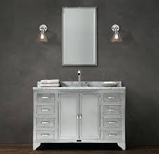 Restoration Hardware Vanity Odeon Single Sink81