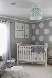 Grey Nursery Room Decor Ideas