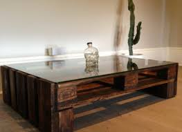 Glass: Large Glass Coffee Table