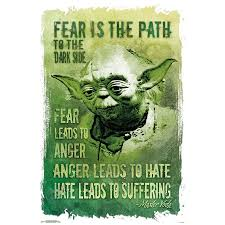 Star Wars Poster Yoda Path To The Dark Side