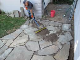 the 12 hour diy flagstone patio merrypad