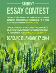 agriculture topics for essays best agriculture environment cover  a growing culture writing contest deadline jan lfs do you have a passion for ecological agriculture