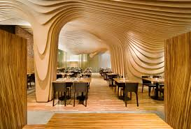 architectural interior design. Best Architectural Interior Design With Wavy Ceilings Walls Furniture P