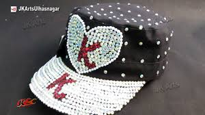 Decorating With Hats Baseball Cap Decoration With Rhinestone And Pearls How To Jk