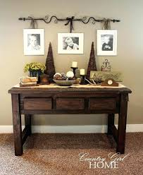 skinny entryway table. Small Entryway Table Decor Console Tables Awesome Hack Skinny O