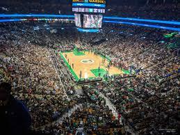 boston celtics seat view for td garden section 310