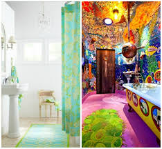 colorful bathroom rugs photos and s ideas combining bright color and a large