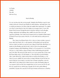 how to write an interview essay example interview essay example template business