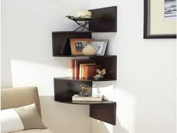 Small Picture Corner Wall Shelf Corner Wall Mounted Shelves For Electronics
