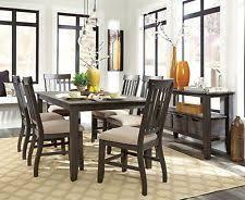 ashley furniture dining room sets discontinued. ashley furniture dresbar 7 piece vintage wire brushed dining room set d485 sets discontinued
