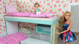How To Make A Barbie Bunk Bed & Complete Bedroom! Compilation!