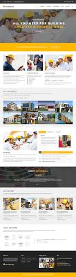 Construction Website Templates 24 Best Construction Company HTML24 Templates 24 Responsive Miracle 14