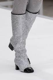 chanel glitter boots. glittery boots chanel glitter s