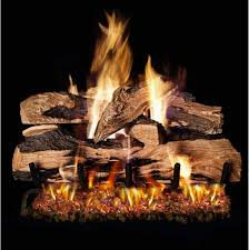 Peterson Split Oak Designer Plus Realfyre Split Oak Designer Plus Vented Gas Logs Sdp 24 24 Inch