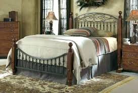 wrought iron and wood furniture. Wood And Metal Bedroom Iron Furniture . Wrought