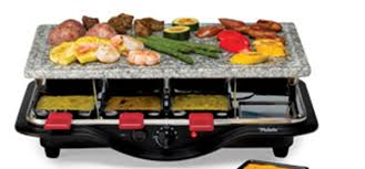 table top grill. grill perfect steaks with the velata raclette tabletop table top