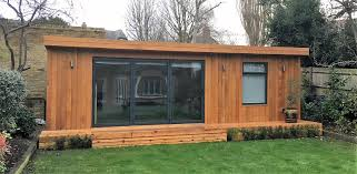 building a garden office. Our Summerhouses Sit Beautifully In A Garden Setting, And Work Well With Sympathetic Planting. Building Office