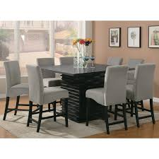 Infini Furnishings Jordan  Piece Counter Height Dining Set - Tall dining room table chairs