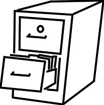 file cabinets clip art. Exellent Art Filing Cabinets Clip Art Intended File N