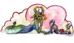 medusa and shadow shaman dota 2 by nattyspb on deviantart