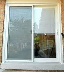 back door blinds for sliding glass doors with built in mini designs idea metal magnetic