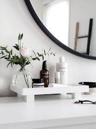 bathroom vanity tray. DIY Footed Vanity Tray- Homey Oh My Bathroom Tray A