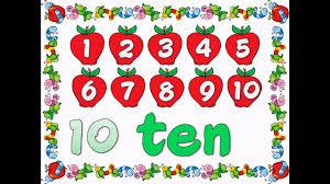 numbers  numbers 1 10