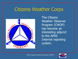 Citizen Weather Observer Program Logo