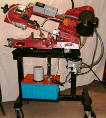 harbor freight bandsaw stand. built a new stand for my bandsaw harbor freight s