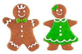 gingerbread woman.  Woman Smiling Gingerbread Cookie Family On White Background Stock Photo Inside Gingerbread Woman B