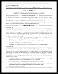executive chef resume format cipanewsletter cover letter sample executive chef resume executive chef resume