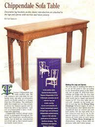 sofa table plans. Sofa Table Plans S