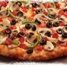garden delight round table pizza