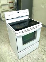 whirlpool glass top stove electric flat amazing appliances in samsung burner not working