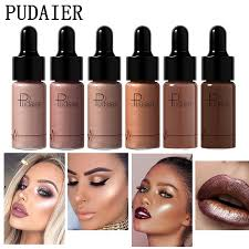 pudaier highlighter liquid drop for dark skin concealer face contouring makeup iluminador maquiagem gold highlighters bronzers in bronzers highlighters