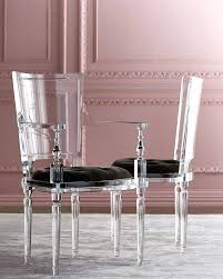 acrylic dining room chairs. Gorgeous Ghost Chairs Lucite Dining Acrylic Side Chair Via Modern . Rustic Room H